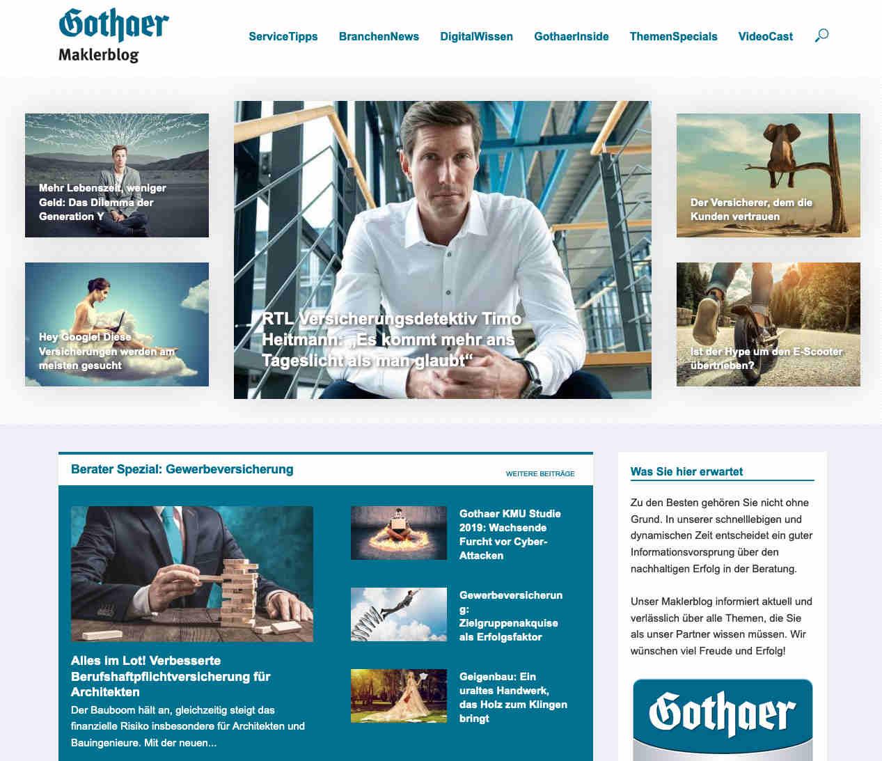 Maklerblog: News und Tipps aus der Branche